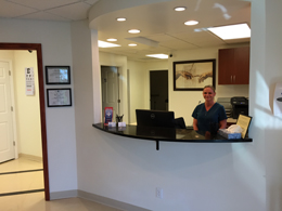 Lake Worth urgent care interior photo